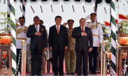 Inauguration du CPEC en présence de Xi Jinping et de Nawaz Sharif, 2015.