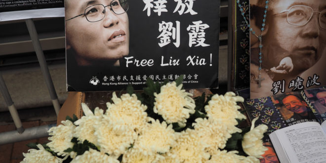 Libération de Liu Xia : la question de l'opposition en Chine