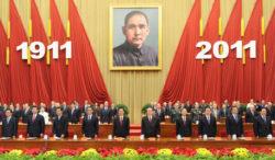 L'importance des symboles pour le PCC: en octobre , cérémonie d'apparat en l'honneur des 100 ans de la révolution de Sun Yat-sen.