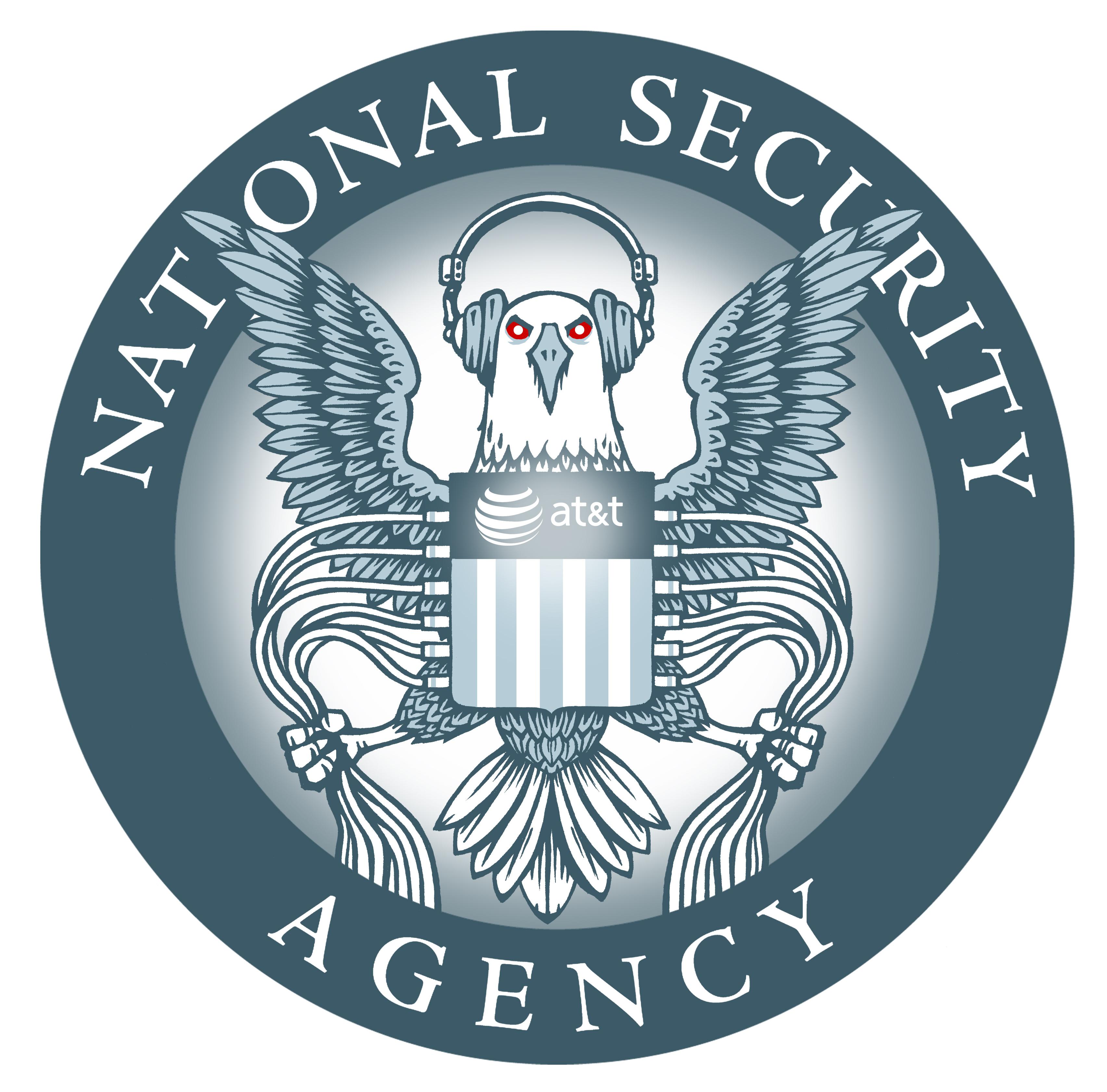 NSA National Security Agency, l'agence d erenseignement américaine la plus puissante au monde, elle intercepte toutes les données du traffic mondial