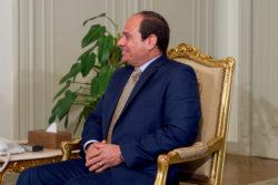 Président Egypte Diplomatie