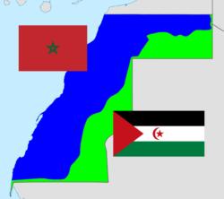 mur de sable, cessez le feu, MINURSO, envoyé spécial , table ronde Délimitation entre le Sahara ocidental marocain et du Front Polisario