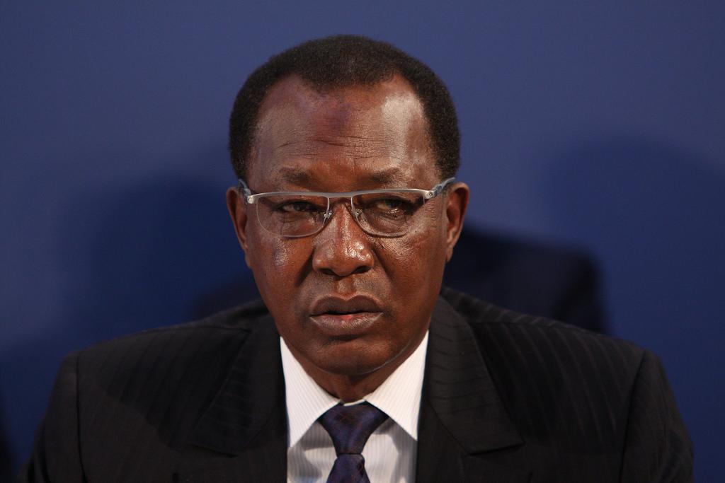 Idriss Deby, président du Tchad. G5 Sahel. Les Yeux du Monde.