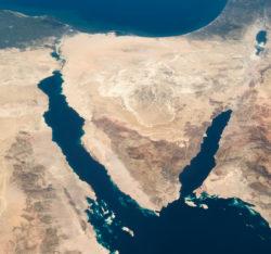 Zone de contrôle de l'Etat islamique au Sinaï