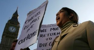 Manifestation à Londres pour le retour des locaux dans les îles Chagos