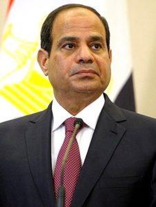 Photo de Sissi président égyptien et président de l'Union Africaine
