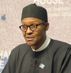 Muhammadu Buhari, président sortant du Nigéria.