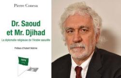 Couverture du livre Dr.Saoud et Mr.Djihad avec une photo de son auteur, Pierre Conesa