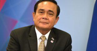 Le général Prayuth Chan-o-cha, Premier Ministre de la Thaïlande.