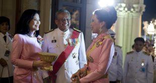 La princesse Ubolratana de Thaïlande, à droite.