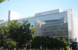 Une vue de la Banque mondiale, qui habrite le CIRDI