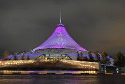 Sous la présidence de Nursultan Nazarbayev, le Kazakhstan a connu de nombreux changements, notamment architecturaux