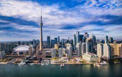 Skyline de Toronto au Canada
