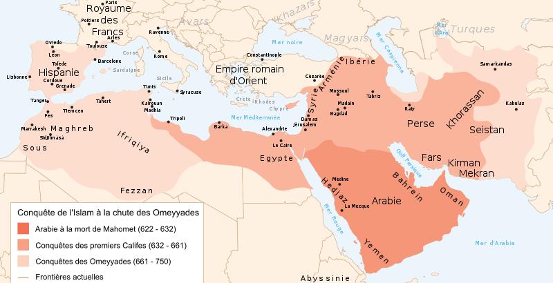 Les Omeyyades, pionniers des empires musulmans.