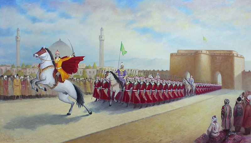 L'Empire séfévide s'impose rapidement comme un concurrent sérieux pour l'Empire ottoman.