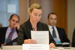 Frederica Mogherini, actrice de l'Europe de la Défense