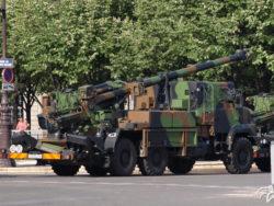 Canon CAESAR vendu à l'Arabie Saoudite et utilisé dans la guerre au Yémen