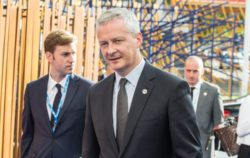 Un aperçu de Bruno le Maire, promoteur français de la taxe GAFA nationale