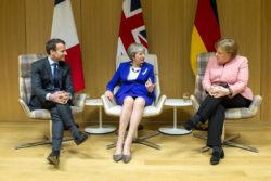 May, Macron et Merkel ont apporté leur soutien à Téhéran