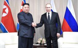 A Vladivostok, Poutine et Kim Jong-un ont longuement discuté du processus de dénucléarisation de Pyongyang.