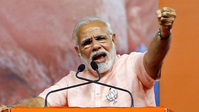 Narendra Modi, grand vainqueur des élections en Inde