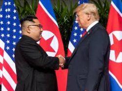Trump et Kim Jong-un se sont rencontrés a plusieurs reprises autour de la question des sanctions onusiennes et du nucléaire nord-coréen