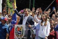 Guaido est le meneur de l'opposition contre Nicolas Maduro au Venezuela