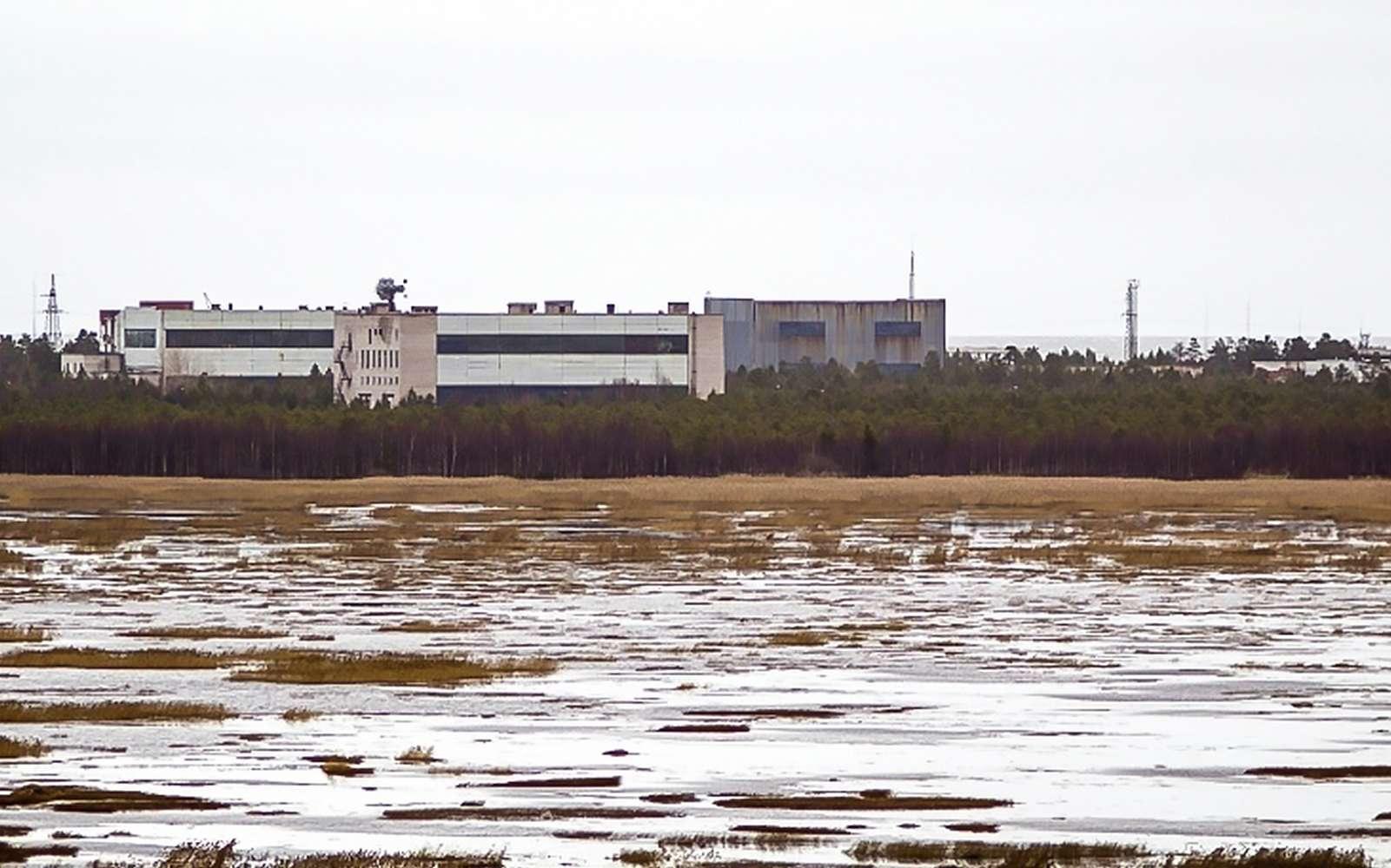 Nyonoksa, base militaire sur laquelle a eu lieu l'accident nucléaire en Russie.