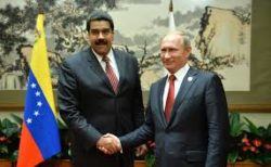 Le Venezuela, partenaire stratégique de Moscou. Le groupe Wagner serait dans le pays de manière officieuse.