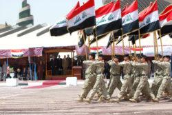 L'armée irakienne entre parfois en concurrence avec les milices