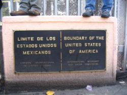 Frontière entre les Etats-Unis et le Mexique