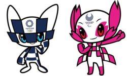 Les mascottes des Jeux de Tokyo seront bleu foncé pour les Jeux Olympiques et fleur de cerisier pour les Jeux Paralympiques