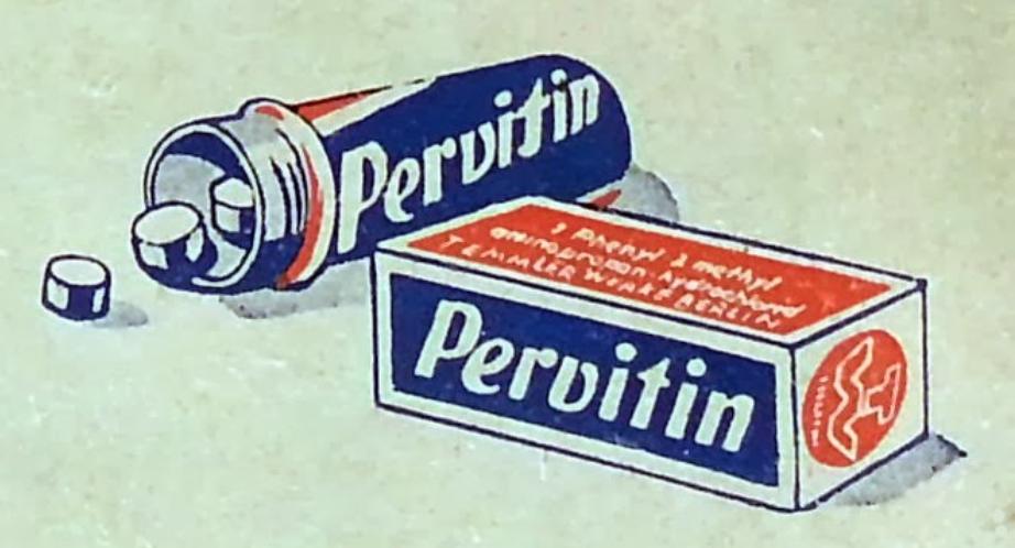 La Pervitin a été utilisée par les nazis.