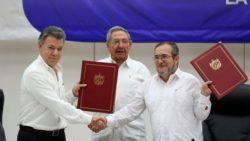 En 2016, les FARC et le gouvernement proclamaient la signature d'un accord de paix.