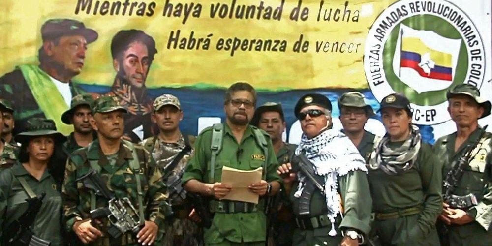 Iván Márquez et la dissidence des FARC.