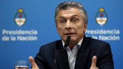 Macri, président de l'Argentine