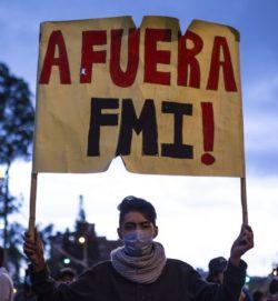 """""""A fuera FMI!"""", le cri de ralliement de la crise en Équateur"""