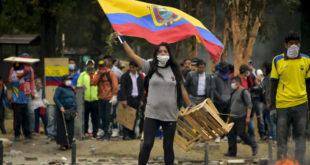 Les manifestations ont entraîné une crise sociale d'ampleur en Équateur.