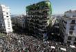 Manifestations à Alger, où la jeunesse arabe poursuit sa révolution