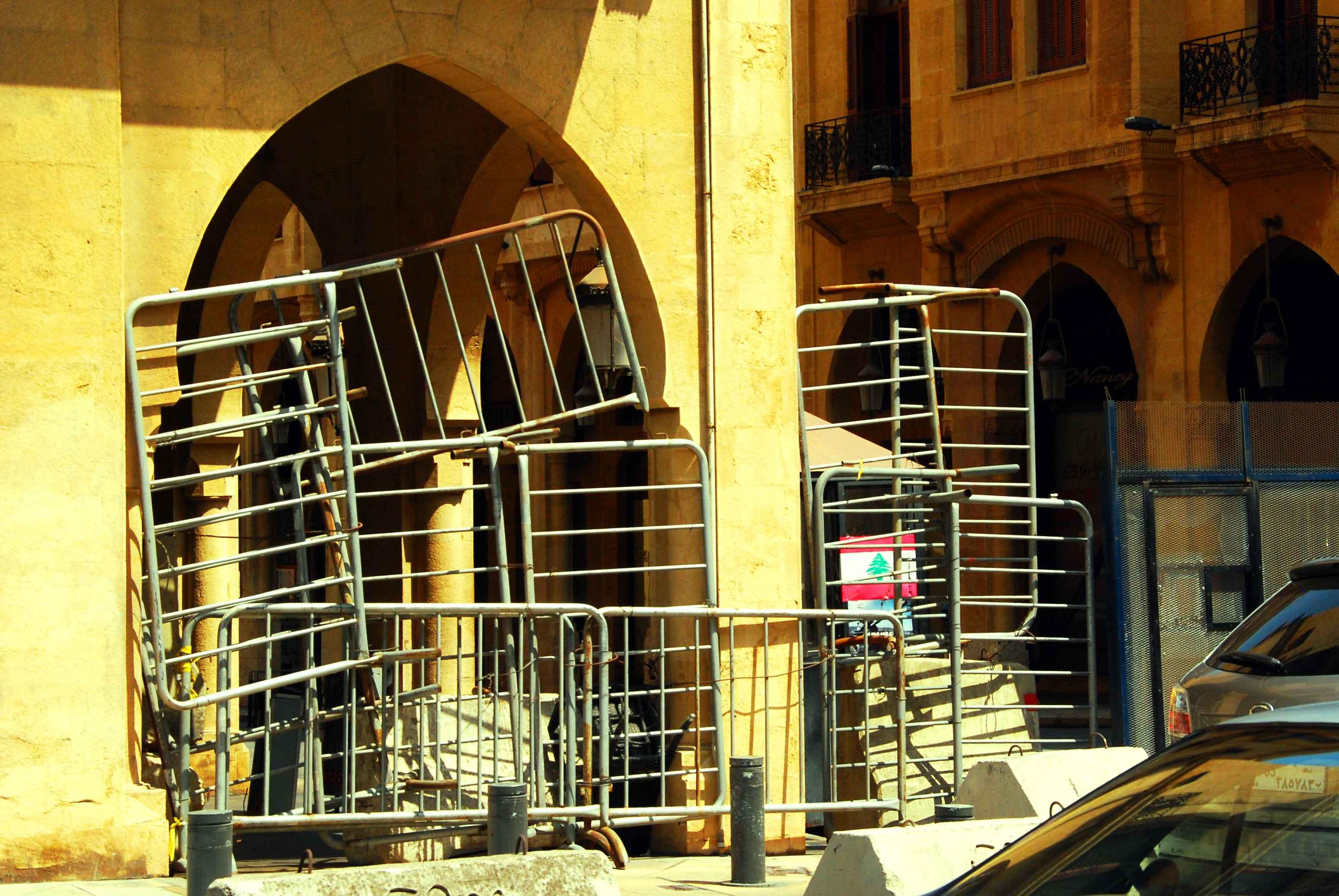 Architecture sécuritaire en Irak, au Liban et en Algérie.