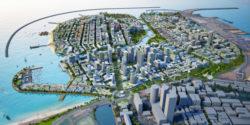 """Avec la construction de Port City, le Sri Lanka est devenu l'une des """"perles"""" des nouvelles Routes de la Soie chinoises."""