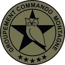 Insigne du Groupement Commando Montagne