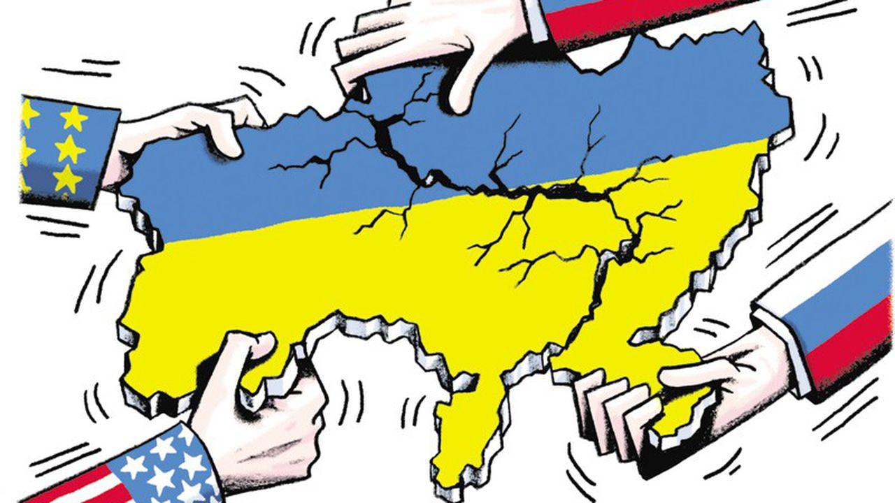 L'Ukraine déchirée entre Europe et Russie