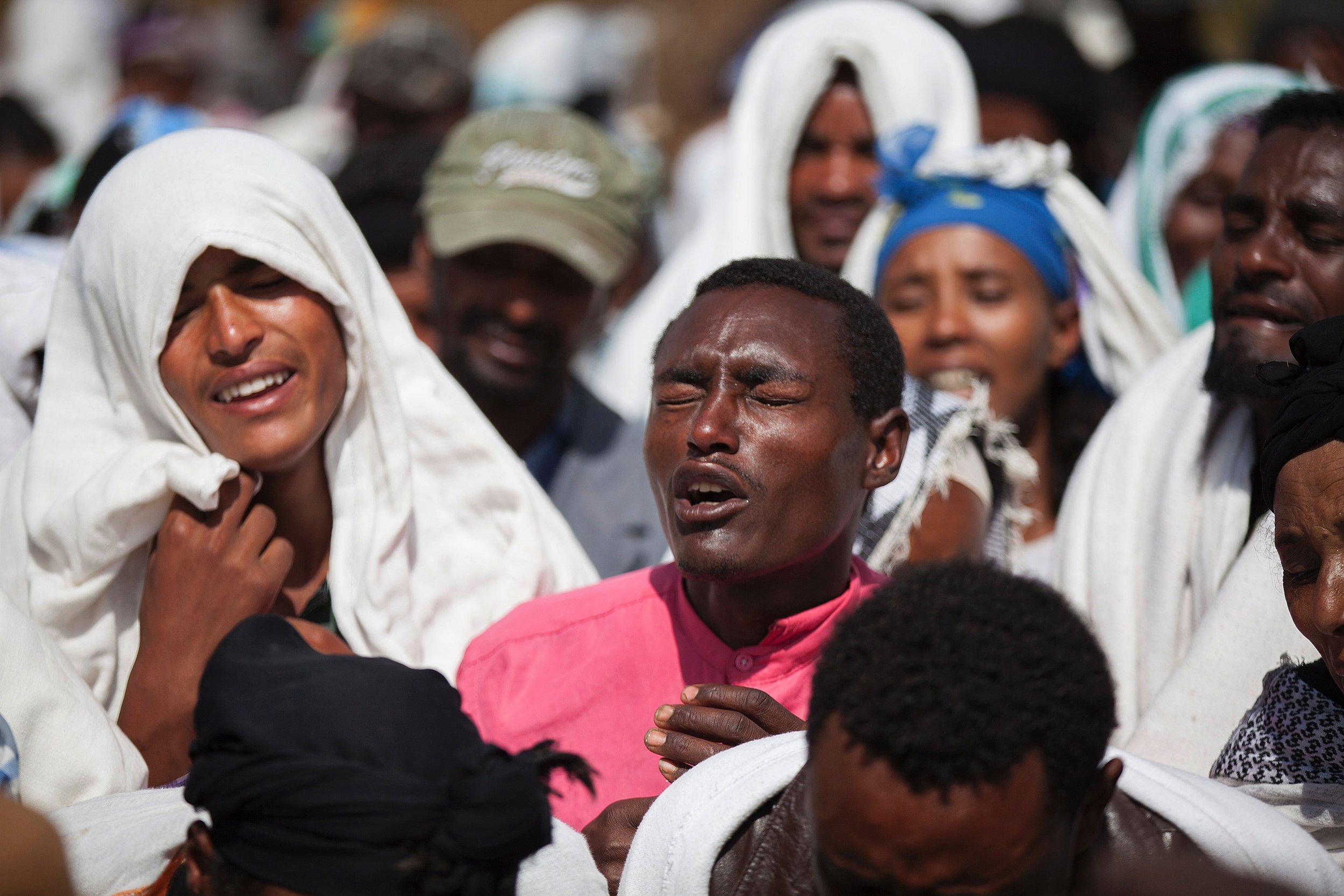 En 2015, le peuple Oromo a protesté contre les projets d'expansion de la capitale Addis-Abeba.
