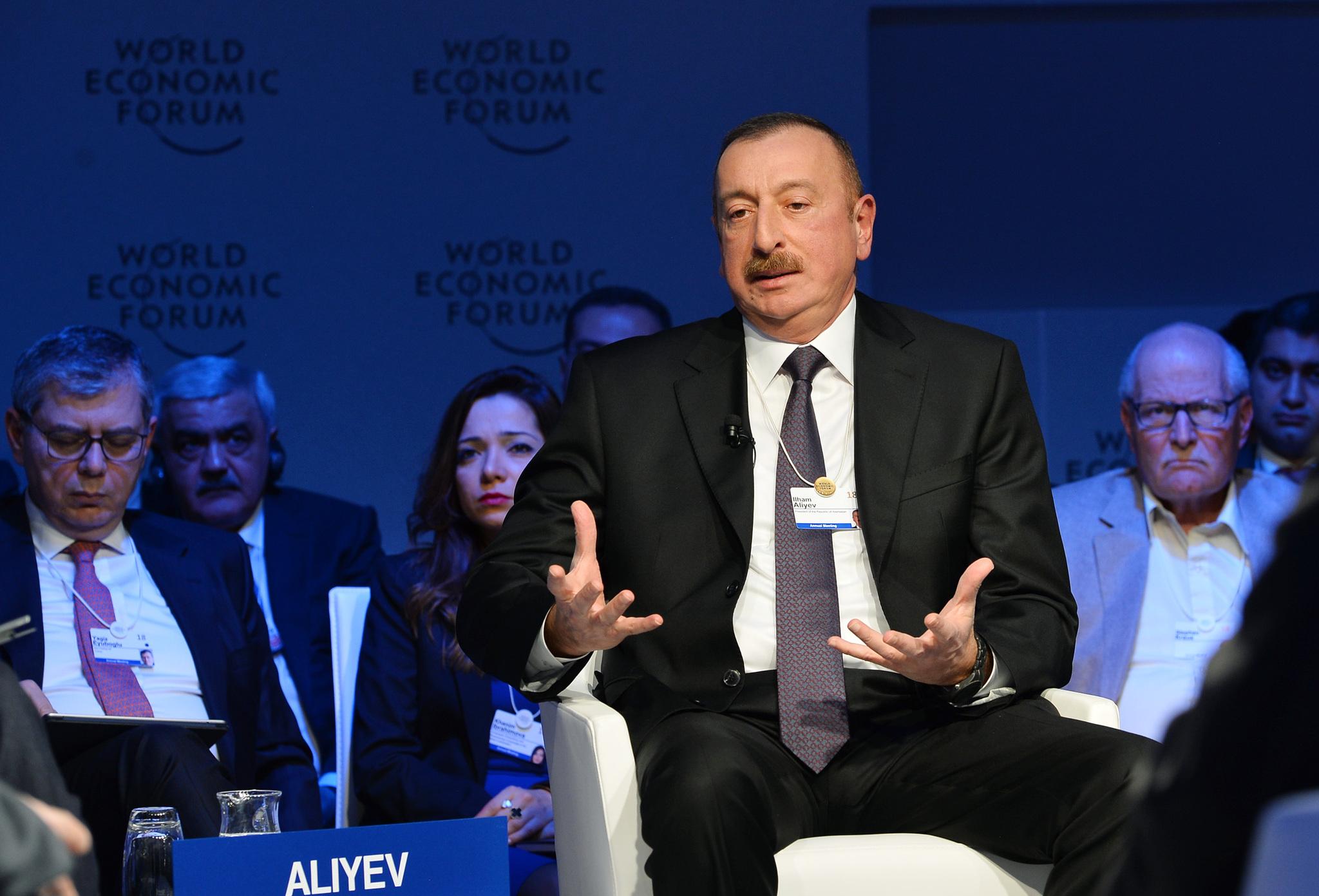 Ilham Aliyev, Président d'Azerbaïdjan