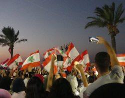 Soulèvement populaire au Liban