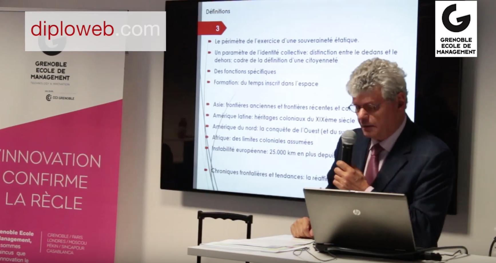 Conférence : M. FOUCHER : Le retour des frontières