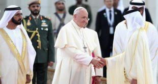Le Pape François en visite à Abou Dhabi
