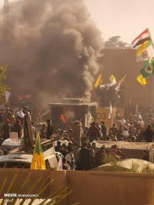 Attaque de l'ambassade des Etats Unis en Irak