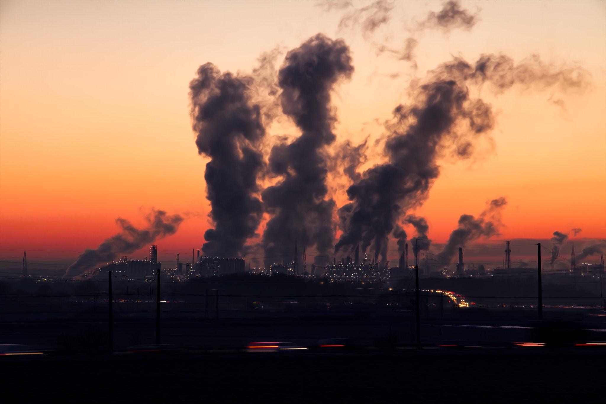 L'arrêt des industries a provoqué une forte amélioration de la qualité de l'air